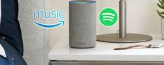 Amazon Echo Owners: Spotify Premium or Amazon Music Unlimited? #Entertainment #Smart_Home #Alexa #music #headphones #headphones