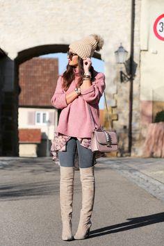 Frühling vereint mit Winter - superschöne Farben, die zum Träumen einladen ... | Stylefeed