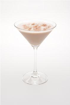 Midnight Martini...¾ oz Hiram Walker Caramel Apple Liqueur  ¾ oz ABSOLUT Vanilla  ¾ oz Kahlua  1 oz half & half
