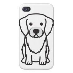 Tibetan Spaniel Dog Cartoon iPhone 4/4S Covers