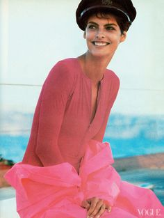 Linda Evangelista in 1988 Started modeling in 1984 (age 19).
