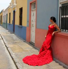 Margarita Villalobos - Peruvian flamenco dancer