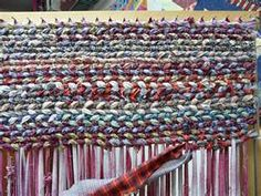 making rag rugs...and rug braiding...what to do with your old clothes...before…