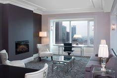 Dimplex DF3033ST electric #fireplace at Trump Tower Hotel, Toronto, $1149.00 cdn.