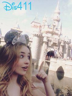 Photos: Sabrina Carpenter With Rowan Blanchard And More At Disneyland Resort April 12, 2014