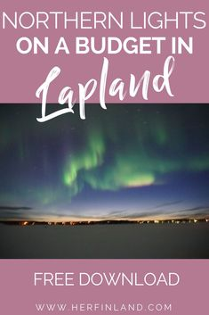 How to see Northern Lights in Finland? With this make-no-mistakes guide by local, you'll know the best time, destinations + forecast sites! Lapland Northern Lights, Northern Lights Holidays, Finland Destinations, Holidays In Finland, Usa Places To Visit, Finland Travel, Lapland Finland, Europe On A Budget, Winter Travel