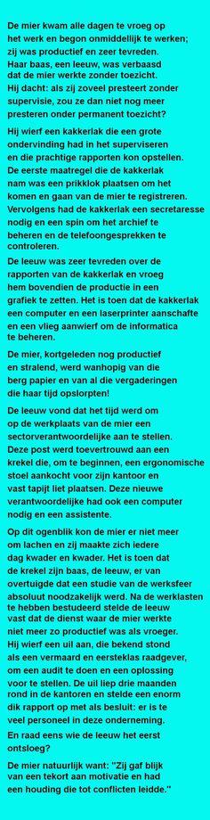 Een kleine mier.. - Zieer.nl