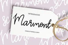 Marmont script by Daria Bilberry on @creativemarket