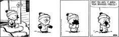 calvin and hobbes quotes boogers freeze | One Thing at a Time: 10 Life Lessons from Calvin and Hobbes