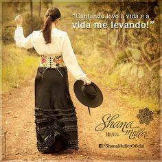 Shana Muller, Cantora Gaúcha, Rio Grande do Sul