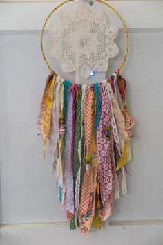 There are a ton of great scrapbusting tutorials out there, Check out our Scrap Busting pinterest boardfor some great ideas. But today, we have an  adorable tutorial for how to use some beautiful and small scraps to make a  perfect Dream Catcher.