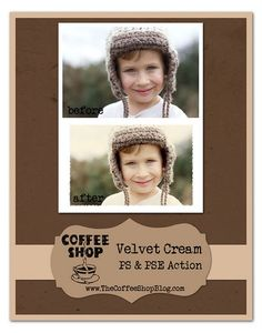 free photoshop actions!