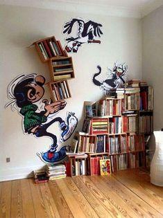 Bibliotheque gaston lagaffe