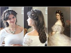 Today we're zooming in on the beauty rituals and looks of Empress Elizabeth of Austria. I'm going to show you how to recreate one of her iconic looks; Steampunk Hairstyles, Medieval Hairstyles, Victorian Hairstyles, Vintage Hairstyles, Down Hairstyles, Wedding Hairstyles, Historical Hairstyles, Different Hairstyles, Kaiser