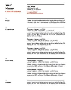5 free resume templates you never knew you had glassdoor blog
