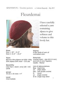 * 25 - Kids Hats for Cold Days