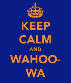 a proud wahoo!