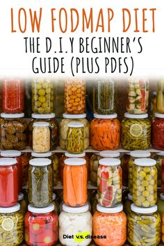 If you're keen to learn more, and maybe even try a low FODMAP diet for yourself, this 3,000 word beginner's guide is a great place to start. #nutrition #dietitian #nutritionist Home Canning Recipes, Canning Tips, Cooking Recipes, Vegan Recipes, Dehydrated Vegetables, Dehydrated Food, Canning Pressure Cooker, Pressure Cooker Recipes, Canning Food Preservation
