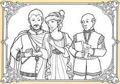 Midsummer Night's Dream coloring pages & puppets.