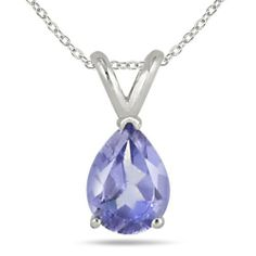 All-Natural Genuine 6x4 mm, Pear Shape Tanzanite pendant set in Platinum Szul. $699.00. 60 Day Complimentary Repair Service. Complimentary Packaging. 30 Day Money Back Guarantee