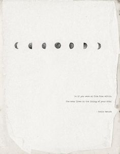 so beautiful. the moon. words quote bohemian text pablo meruda ways with words #jotitdown