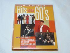 60 Songs Hits of the 60's Sony Music 2010 4 CD set Various Artists Elvis Presley