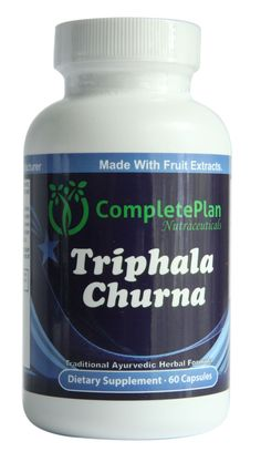 Colon Cleanse, Colon Detox, Liver Cleanse and Liver Detox Triphala Churna Herbal Supplement Extract 1000 MG
