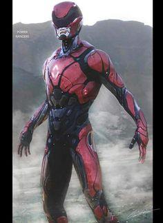 Red Ranger redesign
