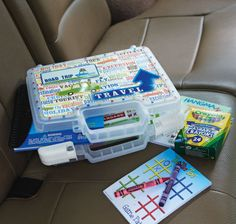 New Adventures Road Trip Car Activity Kit