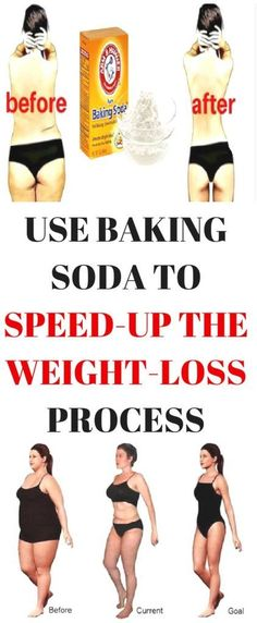Below you can see 3 baking soda recipes which will speed up the weight loss process and help you slim down in just a short time!!!!