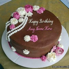 Best Ever Collection Of Happy Birthday Chocolate Cake With Name Make More Yummy And Special Images
