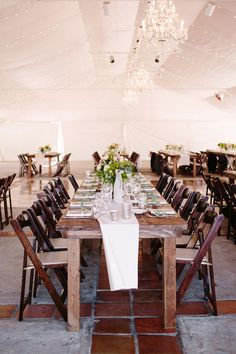 tented reception, photo by Shane and Lauren Photography http://ruffledblog.com/romantic-wedding-meets-winery-chic #weddingreception #weddingideas