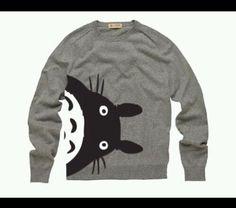 Totoro sweatshirt = life