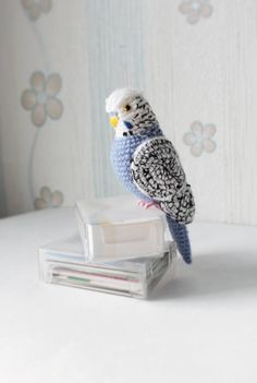 Toy love Parrot Easter Gift For Girl Boy Cocktail by TNGiftsUA