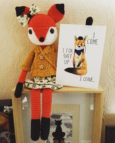 anke_s73 @jollyawesomeart thank you SO much for this awesome card  I simply adore foxes!!! #fox #vos #renard #postcard #snailmail #feestjeopdedeurmat #crochet #crocheter #haken #gehaakt #crochetdoll #craftastherapy #hekle #ganchillo #virka #crochetlove #crochetaddict #instacrochet #crochetersofinstagram #handarbeit #handgemaakt #faitmain #handmade