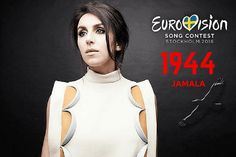 Ukraine's Crimean Tatar singer Jamala promises to embarrass Putin and bring Stalin's crimes to Eurovision Song Contest Eurovision 2017, Eurovision France, Eurovision Songs, Eurovision Ukraine, Hetalia, Terry Wogan, Crimean Tatars, Disco Night, Song Reviews