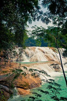 Cascadas de Agua Azul, México