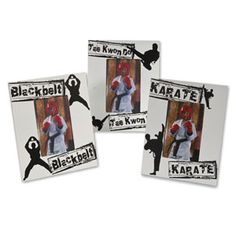 Decorative Martial Arts Frames  centurymartialarts.com
