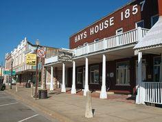 Hays House Restaurant, est. 1857 Council Grove, Kansas
