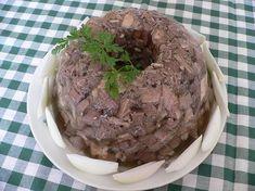 Bábovková tlačenka Czech Recipes, Stuffed Mushrooms, Muffin, Pork, Ice Cream, Beef, Vegetables, Cooking, Breakfast