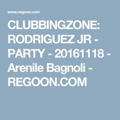CLUBBINGZONE: RODRIGUEZ JR - PARTY - 20161118 - Arenile Bagnoli - REGOON.COM