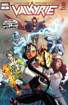 Valkyrie: Jane Foster - Cover by Mahmud Asrar Spiderman, Batman, Ghost Rider, X Men, Harley Quinn, Comic Book Artists, Comic Books, Thor, Jane Foster