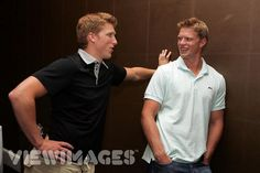 Marc and Eric Staal