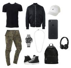 """men's polyvore"" by jesy-smith on Polyvore featuring Nena & Pasadena, Simplex Apparel, Converse, PS Paul Smith, Burberry, HUF, Rolex, M. Cohen, men's fashion et menswear"