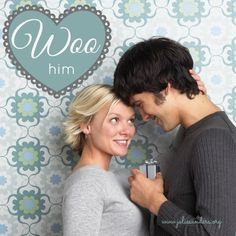 How to win a man's heart: WOO & be wooed #ComeHaveaPeace 28 Days About HIM
