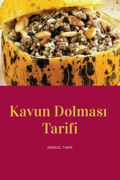 Kavun Dolması Tarifi Turkish Delight, Turkish Recipes, Cake Recipes, Cereal, Breakfast, Food, Morning Coffee, Easy Cake Recipes, Essen