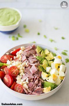A Healthy Meal! Happy Lunch Everyone! #theteadetox #diet #detox #salad