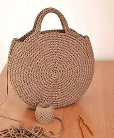 Bolsa en crochet (Patrón)