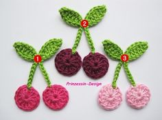 Sweet cherry crochet