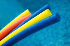 Swimming Pool Exercises Using an Aqua Noodle A pool workout with an aqua noodle, though, can be just as effective as going to the gym. Pool Noodle Exercises, Water Aerobic Exercises, Swimming Pool Exercises, Pool Workout, Thigh Exercises, Swimming Pools, Water Workouts, Swim Workouts, Thigh Workouts